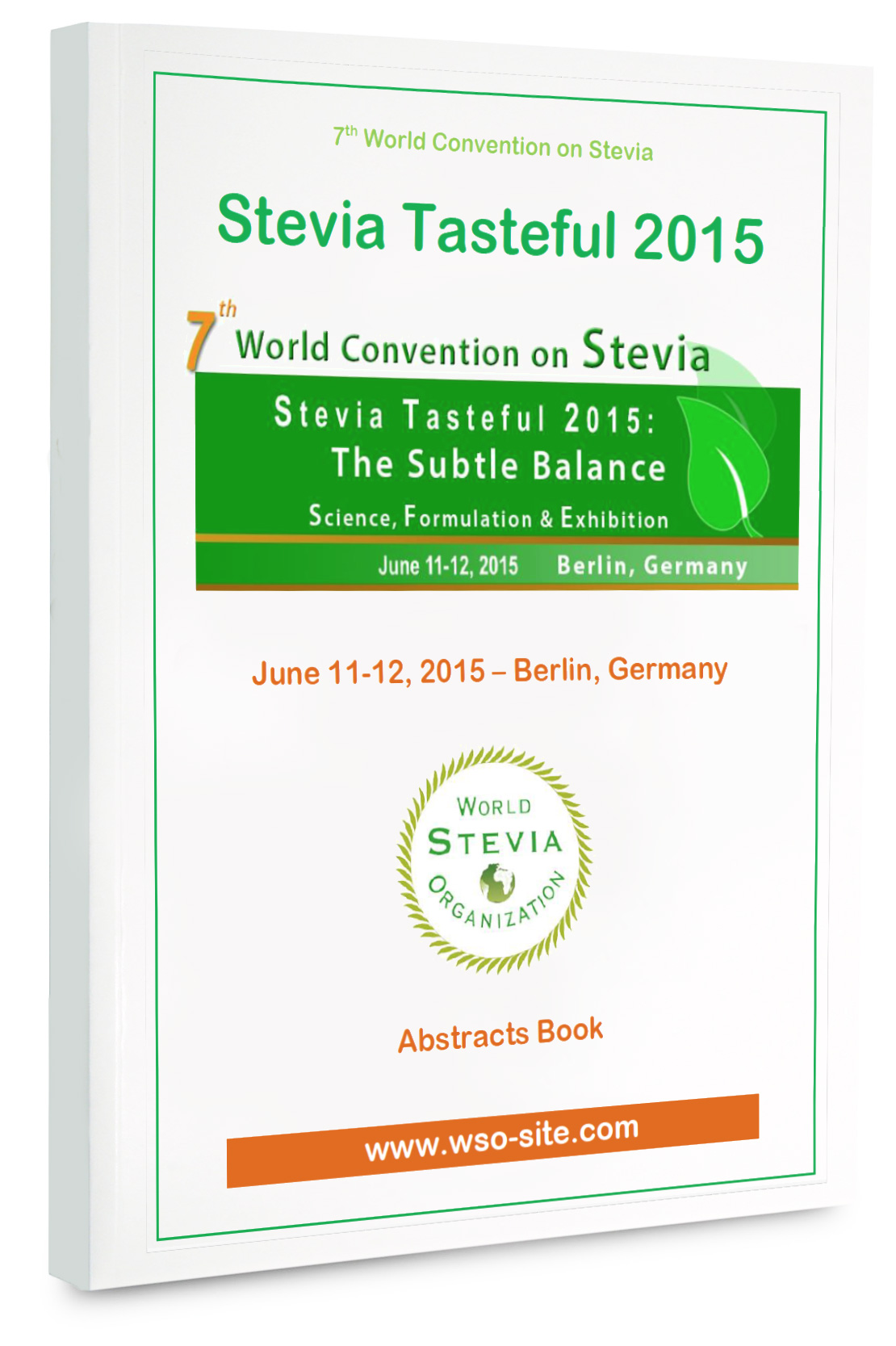 Stevia world congress abstract book