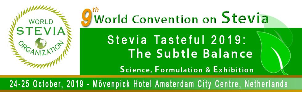 Stevia Tasteful Convention 2019 - October 24-25, 2019