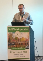 "The First Prize of The James A. May ""Father of Stevia"" Award has been discerned to Dr. Ryan M. Warner"